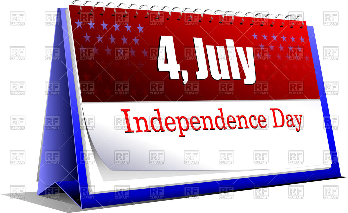July free calendar clipart banner royalty free library Free calendar clipart independance day - ClipartFest banner royalty free library
