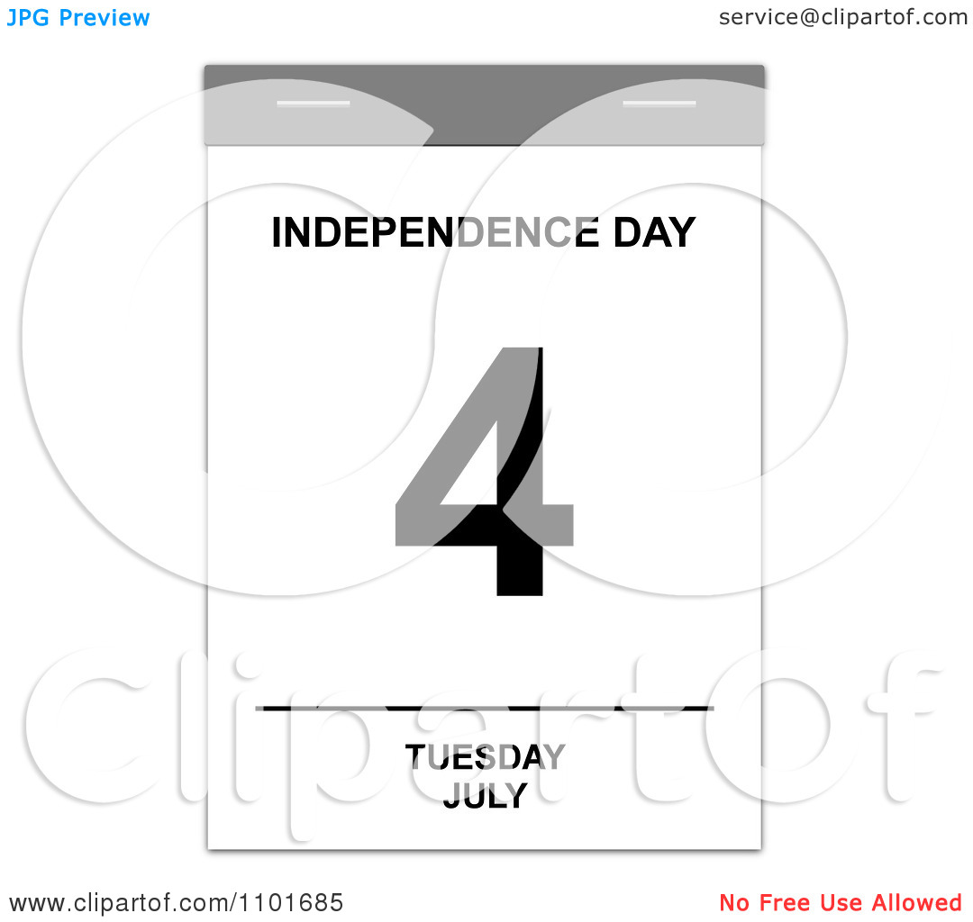 July free calendar clipart graphic free stock Free calendar clipart independence day - ClipartFest graphic free stock