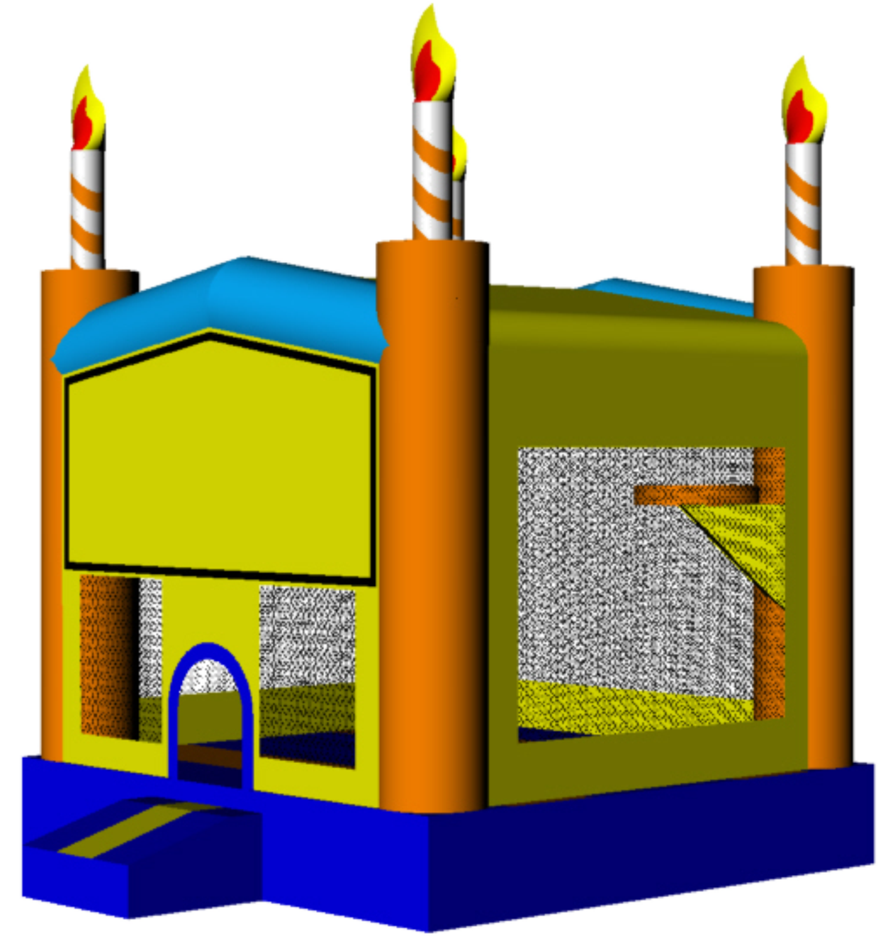 Jump house clipart picture Folsom Bounce House Rentals - Rent Folsom Jumpy House picture