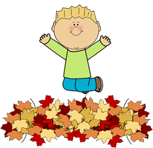 Jump into a pile of leaves clipart svg transparent stock Positive Tales For Kids - Original Short Stories - \