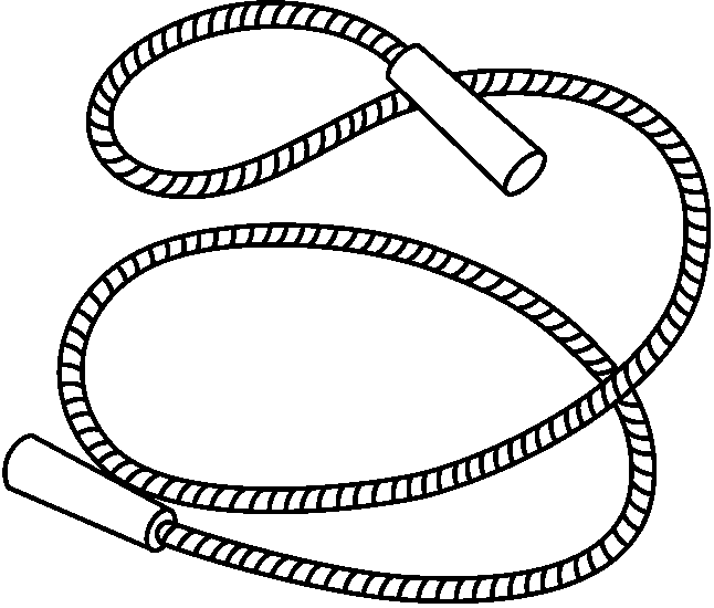 Jump rp e clipart black and white image transparent library Black and white jump rope clipart » Clipart Portal image transparent library