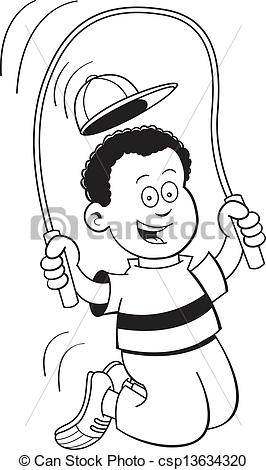 Jump rp e clipart black and white graphic black and white library Jump rope clipart black and white 1 » Clipart Station graphic black and white library