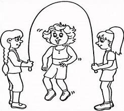 Jump rope clipart black and white clip art black and white download Jumping rope clipart black and white 1 » Clipart Portal clip art black and white download
