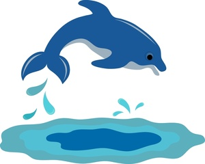 Jumping dolphin clipart vector free library Free Dolphins Jumping Cliparts, Download Free Clip Art, Free ... vector free library