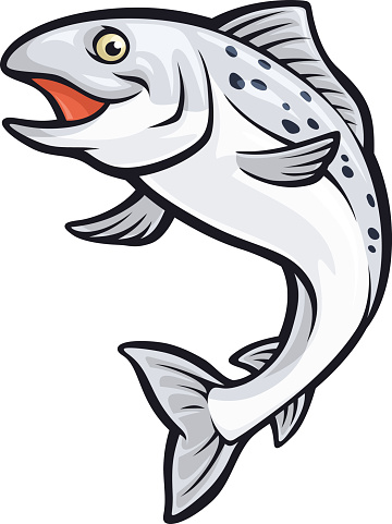 Jumping salmon clipart picture royalty free Free Cute Salmon Cliparts, Download Free Clip Art, Free Clip ... picture royalty free