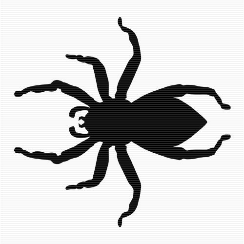 Jumping spider clipart clip library library Jumping Spider Clip Art | silhouette | Spider drawing ... clip library library