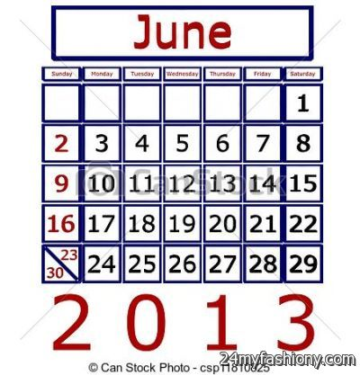 June 2016 calendar clipart image freeuse library June Calendar Clip Art images 2016-2017 » B2B Fashion image freeuse library