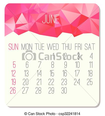 June calendar 2016 clipart picture royalty free June 2016 calendar clipart - ClipartFest picture royalty free