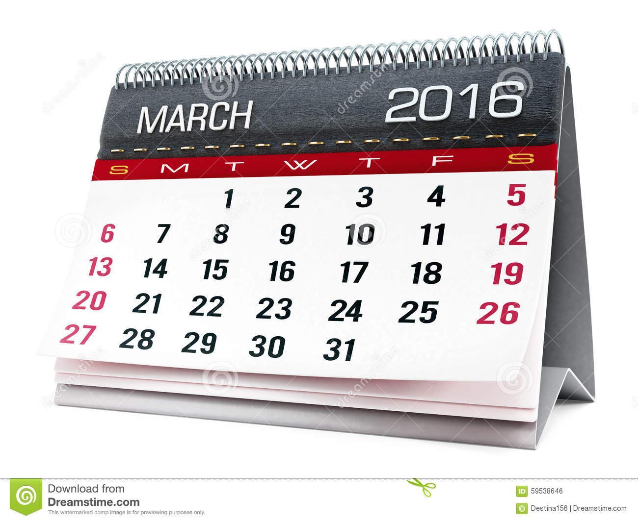 June calendar 2016 clipart graphic black and white stock March calendar 2016 clipart - ClipartFest graphic black and white stock