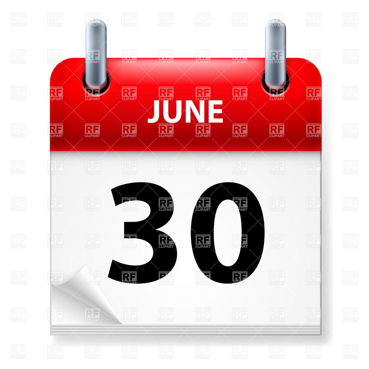 June calendar clipart vector download 30 of June calendar Vector Image #7106 – RFclipart vector download
