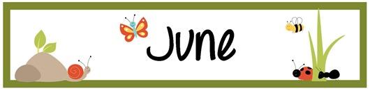 June calendar heading clipart svg transparent download June Pocket Chart Calendar Pieces - FREE Printable svg transparent download