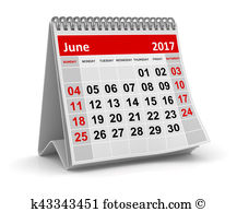 June calendar page clipart banner freeuse download June 2017 Clipart and Stock Illustrations. 134 june 2017 vector ... banner freeuse download