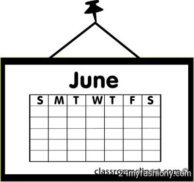 June calendar page clipart clipart library stock June Calendar Clip Art images 2016-2017 » B2B Fashion clipart library stock