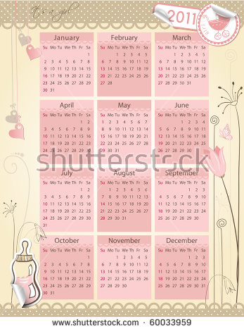 June calendar theme clipart banner download Calendar Girl Stock Photos, Royalty-Free Images & Vectors ... banner download