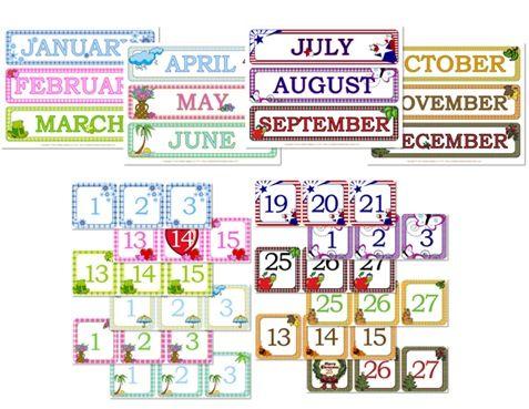 June preschool calendar clipart graphic transparent library 1000+ images about Preschool Calendar Printables on Pinterest ... graphic transparent library