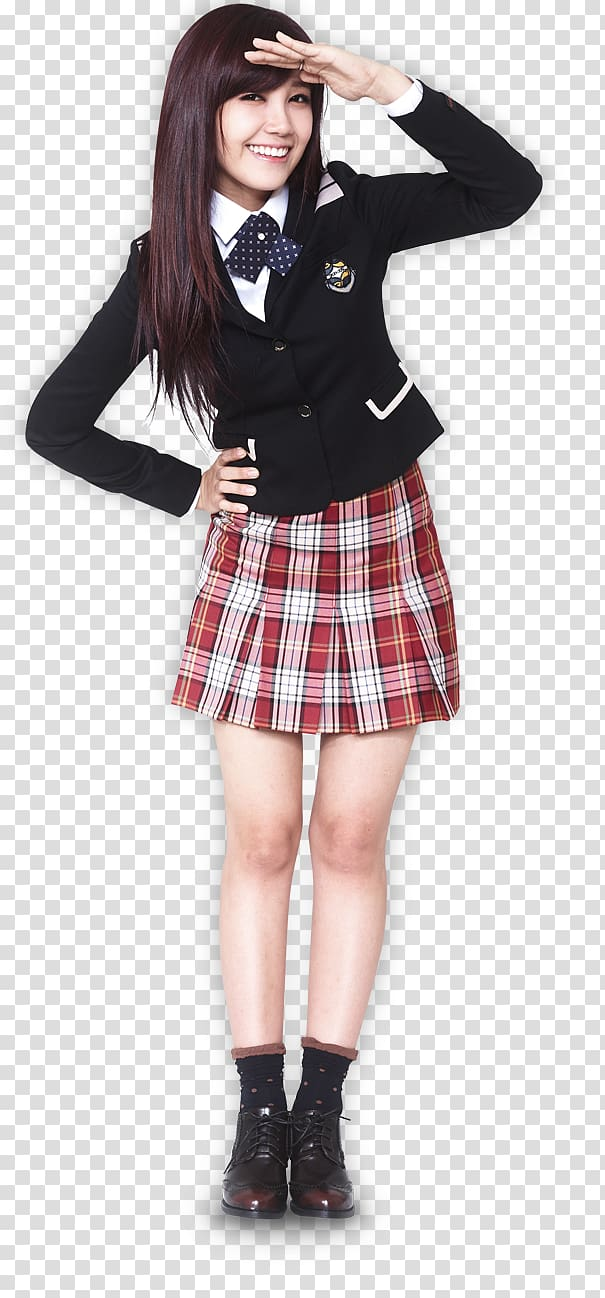 Jung eunji clipart clipart freeuse Jung Eun-ji Japanese school uniform Apink, whispering girls ... clipart freeuse