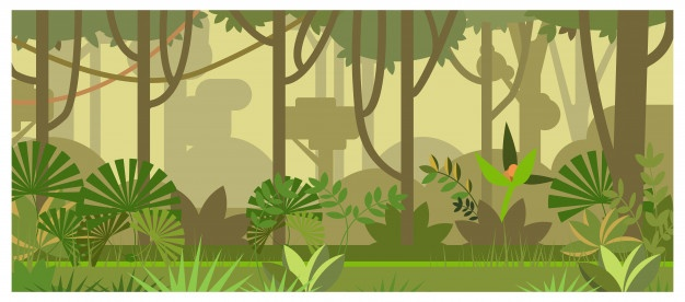 Jungle background clipart vector library stock Jungle Vectors, Photos and PSD files | Free Download vector library stock