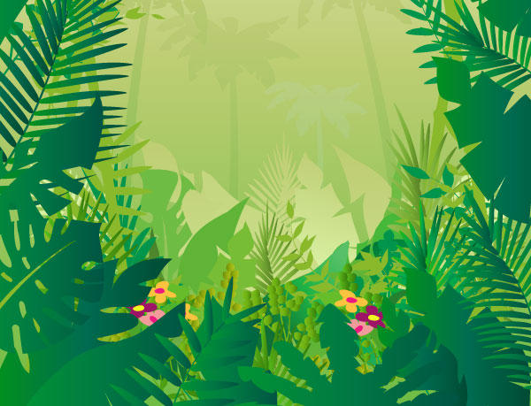 Jungle background clipart clipart royalty free library Jungle background clipart 11 » Clipart Station clipart royalty free library