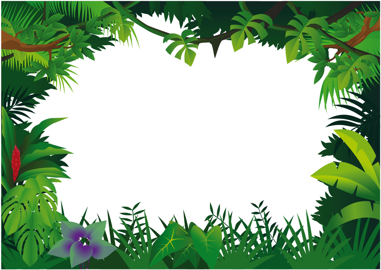 Jungle border clipart clipart freeuse download HD Jungle Border Clipart , Free Unlimited Download #4552230 ... clipart freeuse download