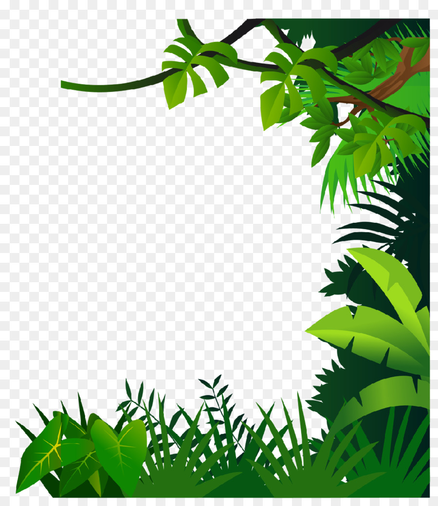 Jungle border clipart royalty free download Jungle border clipart 6 » Clipart Station royalty free download