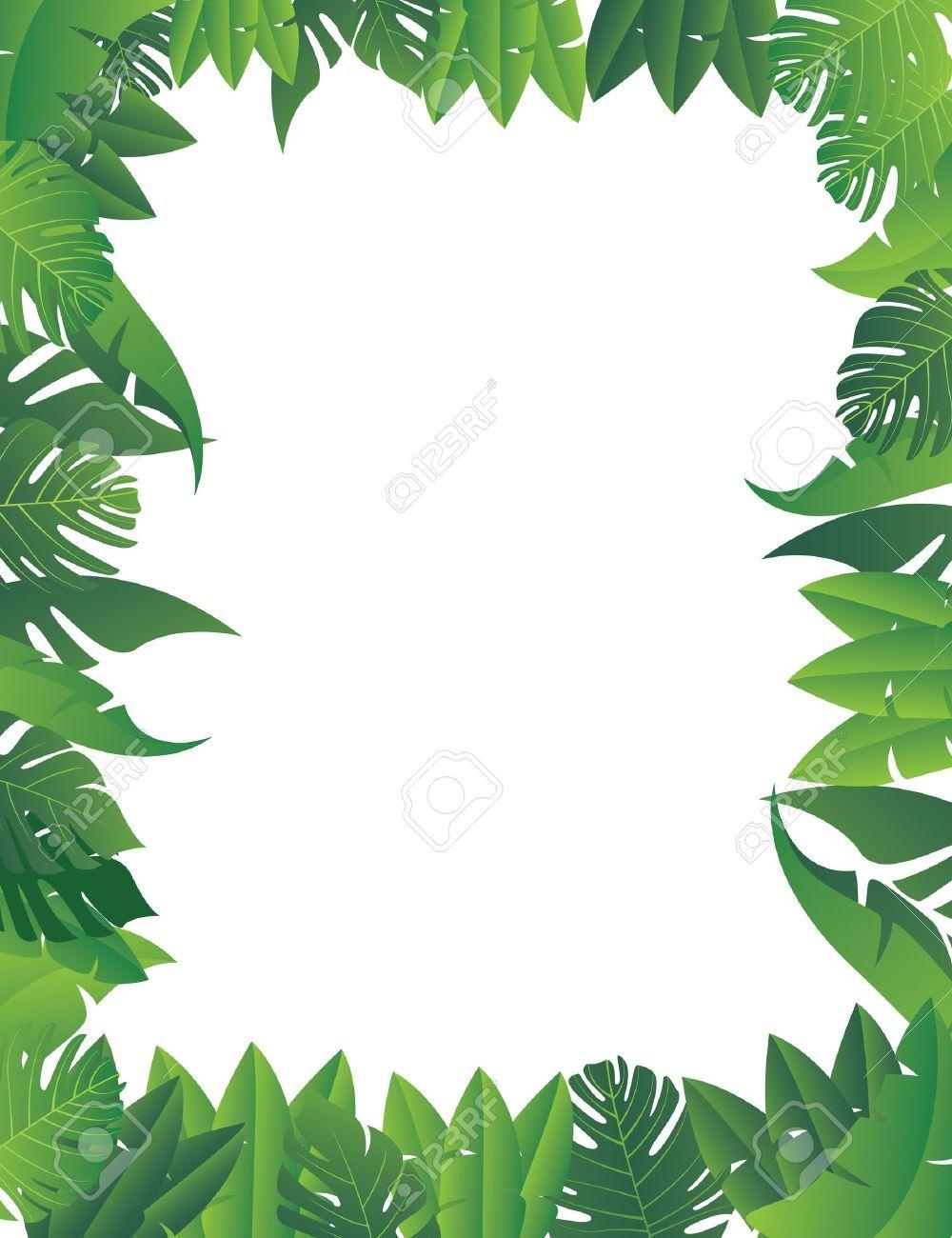 Jungle border clipart png transparent stock Free jungle border clipart 7 » Clipart Portal png transparent stock