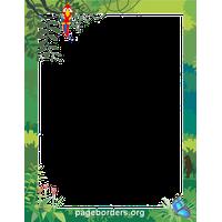 Jungle border clipart clip art stock Add a Frame to your picture - Jungle Border Clipart | FreePNGImg clip art stock