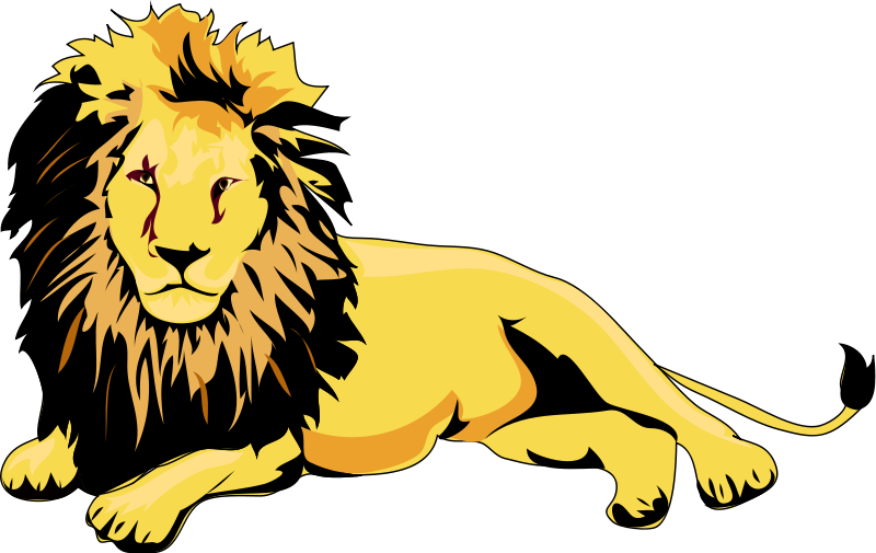 Lion reading a book clipart banner royalty free library clip art of animals | Lion Clip Art Royalty FREE Animal Images ... banner royalty free library