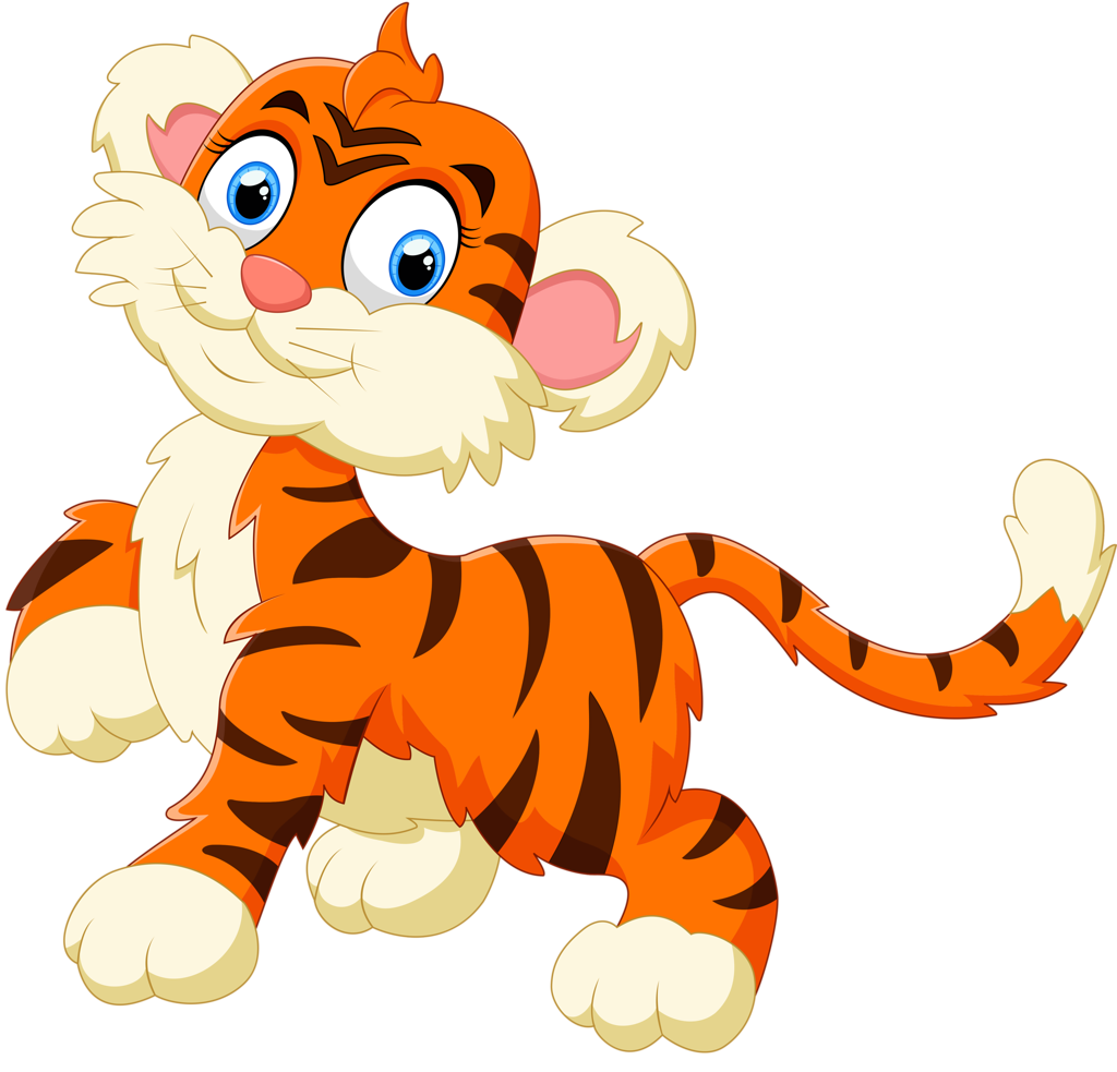 Jungle cat clipart png royalty free Cartoon animals and children vector 2 (4) [преобразованный].png ... png royalty free