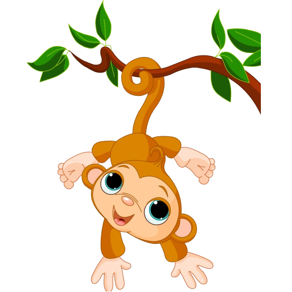 Jungle money clipart clipart Cute Funny Cartoon Baby Monkey Clip Art Images. All Monkey Cartoon ... clipart