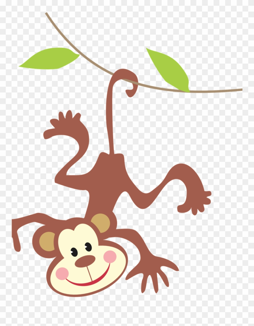 Jungle monkey clipart graphic library stock Clipart Monkey Jungle Animal - Monkey In Rainforest Clipart ... graphic library stock