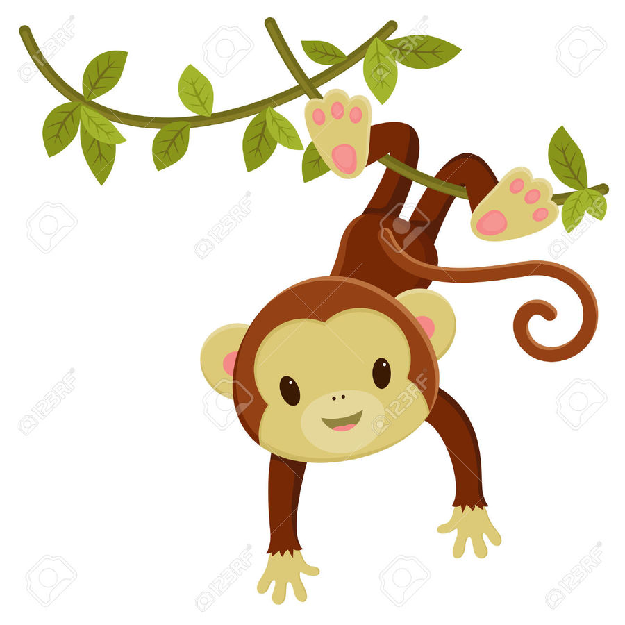 Jungle monkey clipart png transparent library Download cartoon jungle monkey clipart Royalty-free Clip art png transparent library