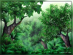 Jungle scene clipart image freeuse Jungle Scene Clipart | Free Images at Clker.com - vector ... image freeuse