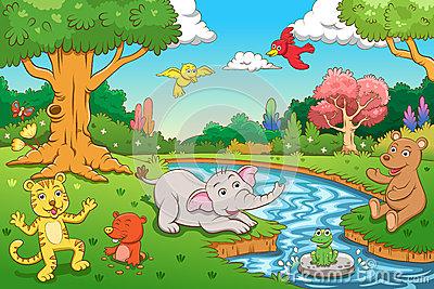 Jungle scene clipart clip art library download Jungle scene clipart 1 » Clipart Station clip art library download