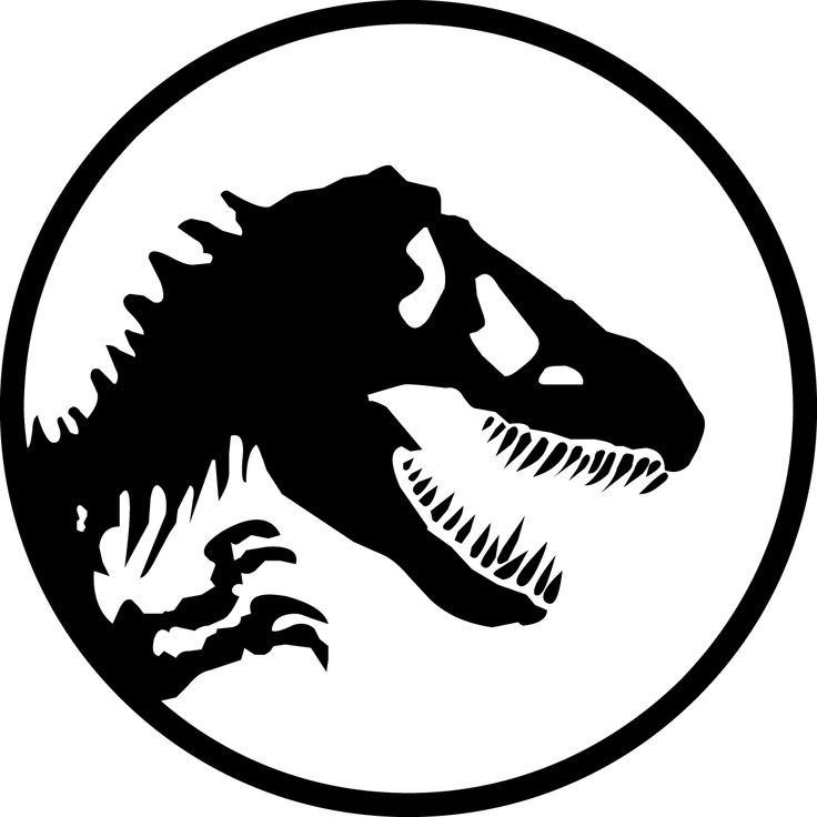 Jurassic park logo clipart clip black and white stock 17 Best images about Jurassic Park on Pinterest | Jurassic world ... clip black and white stock