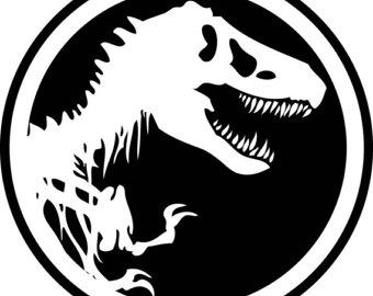 Jurassic park logo clipart png transparent download Jurassic park logo | Etsy png transparent download