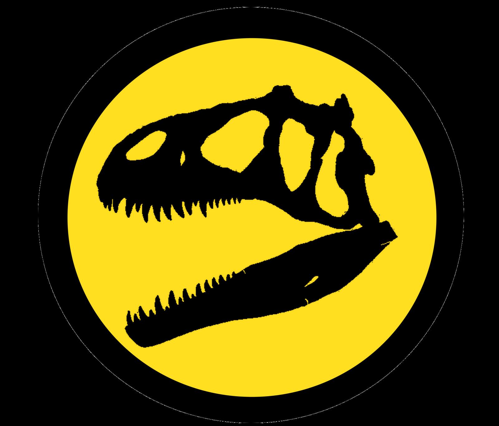 Library of jurassic park logo jpg black and white download ...