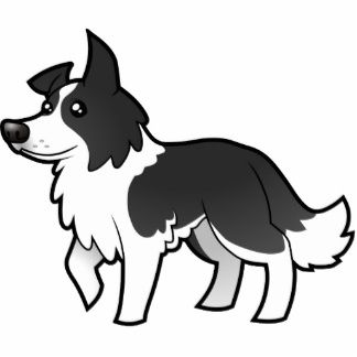 Just a boy and his dog clipart boarders clip art transparent library Cartoon Border Collie Cut Outs | Border Collies! | Border ... clip art transparent library