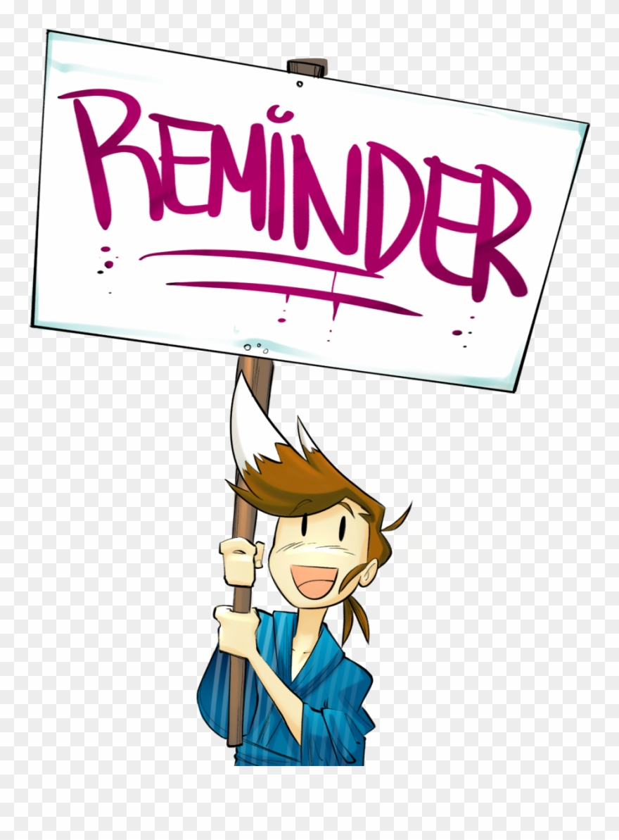 Just a friendly reminder clipart clip freeuse library Just A Friendly Reminder That Our Summer Contest Is - Xp-pen ... clip freeuse library