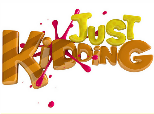 Just kidding clipart png black and white download Just Kidding Pranks on Twitter: \