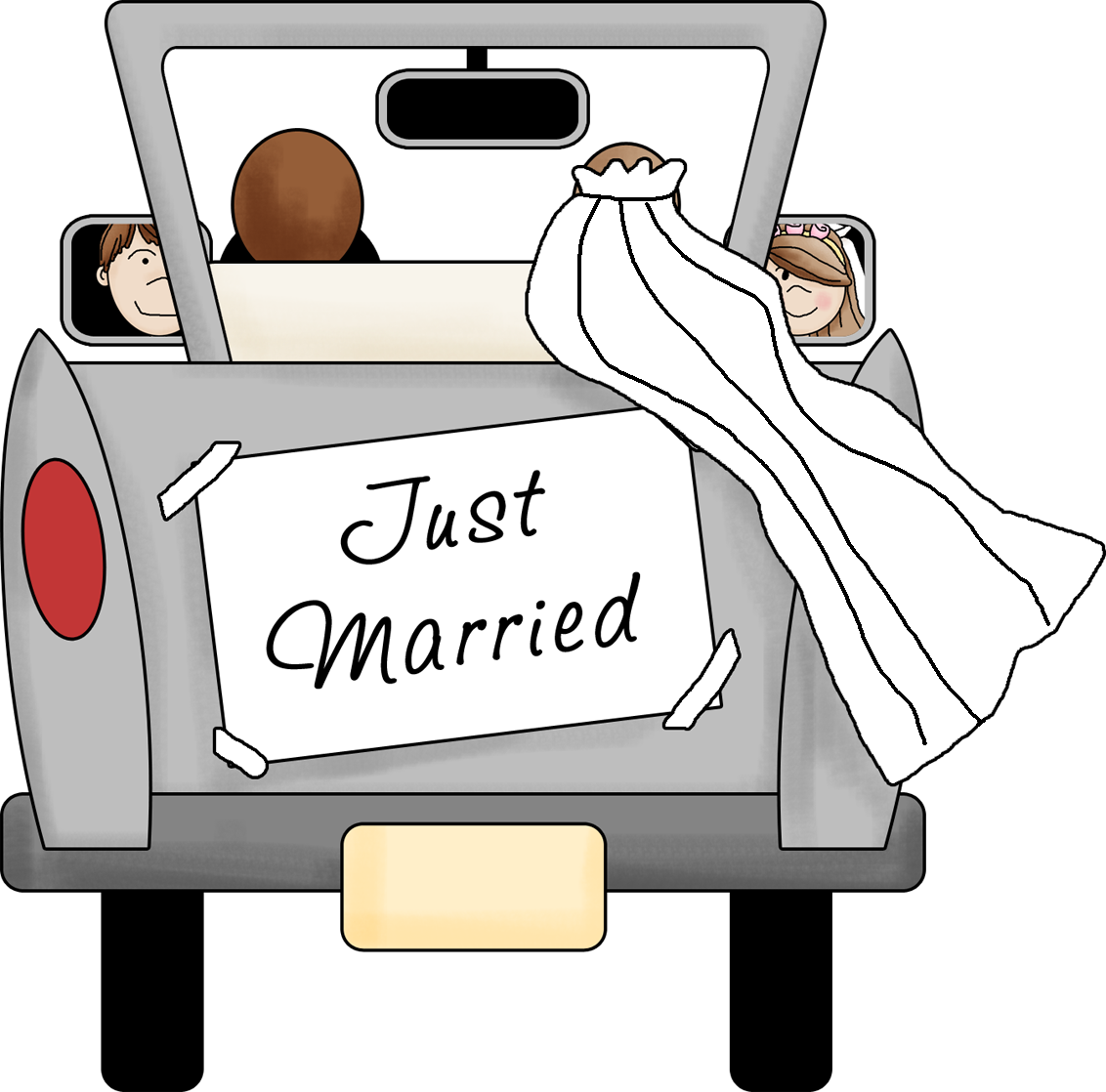 Just married car clipart free i8lAcPGckQskw.png (1132×1118) | wedding gift | Pinterest free
