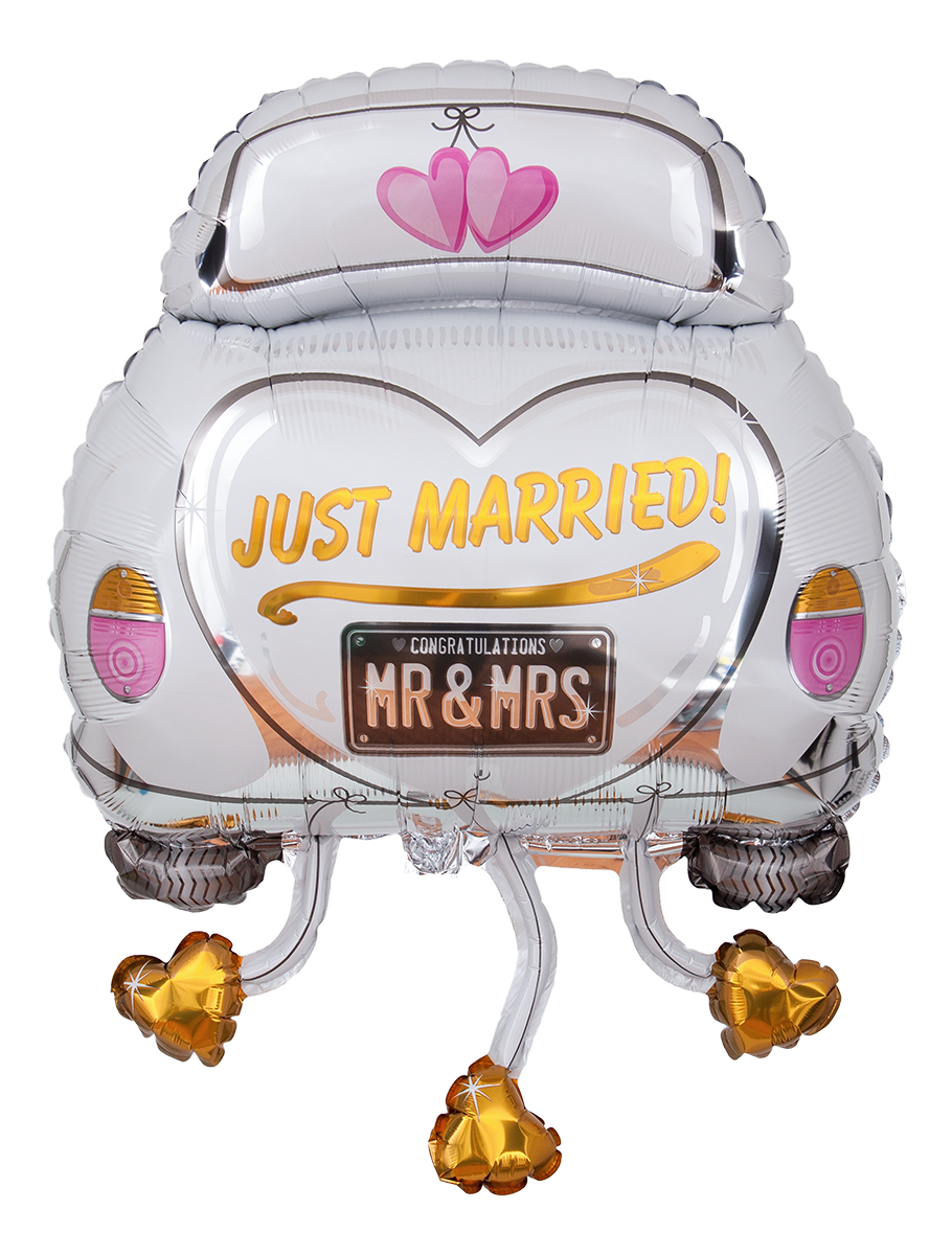 Just married car clipart clipart free Vehicle - Just Married 910*1200 transprent Png Free Download ... clipart free