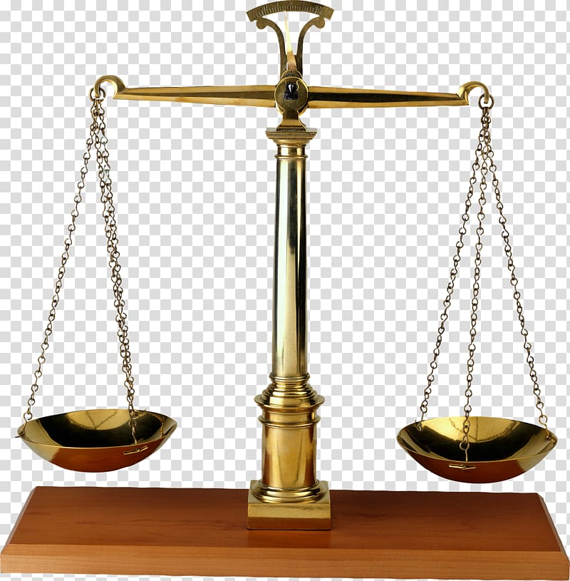 Justice weighing scale clipart