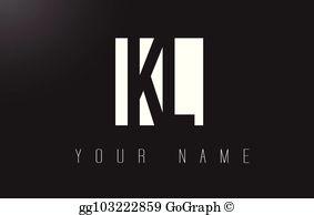 K l clipart clip art black and white stock Kl Clip Art - Royalty Free - GoGraph clip art black and white stock