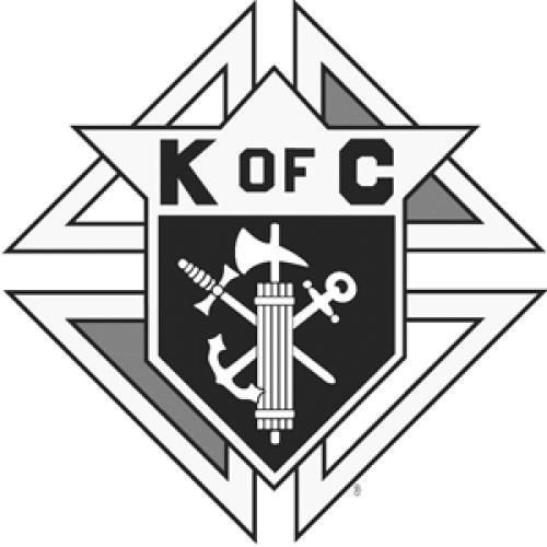 K of c logo clipart graphic black and white Donald Borre Obituary - Morton Grove, Illinois | Legacy.com graphic black and white