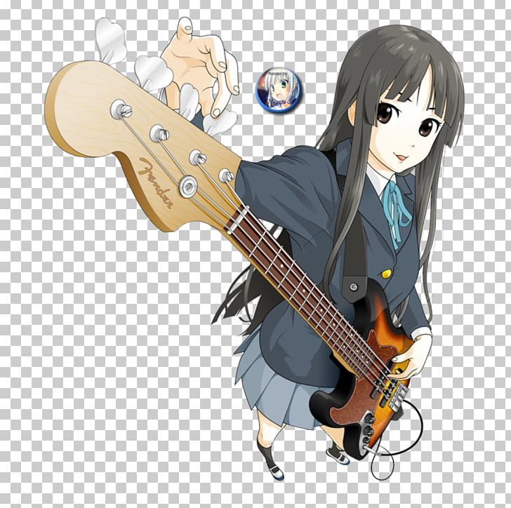 K on mio clipart image free library Mio Akiyama Bass Guitar Anime K-on Png, Clipart, Anime ... image free library