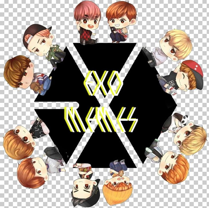 K pop clipart png library stock EXO K-pop Logo Photography PNG, Clipart, Chibi, Deviantart ... png library stock