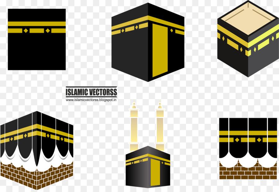Ka ba clipart clipart free Yellow Background clipart - Kaaba, Hajj, Illustration ... clipart free