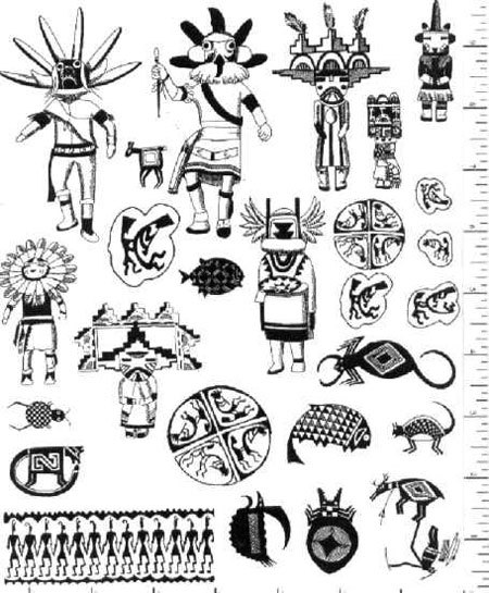 Library of kachina jpg freeuse library png files Clipart ...