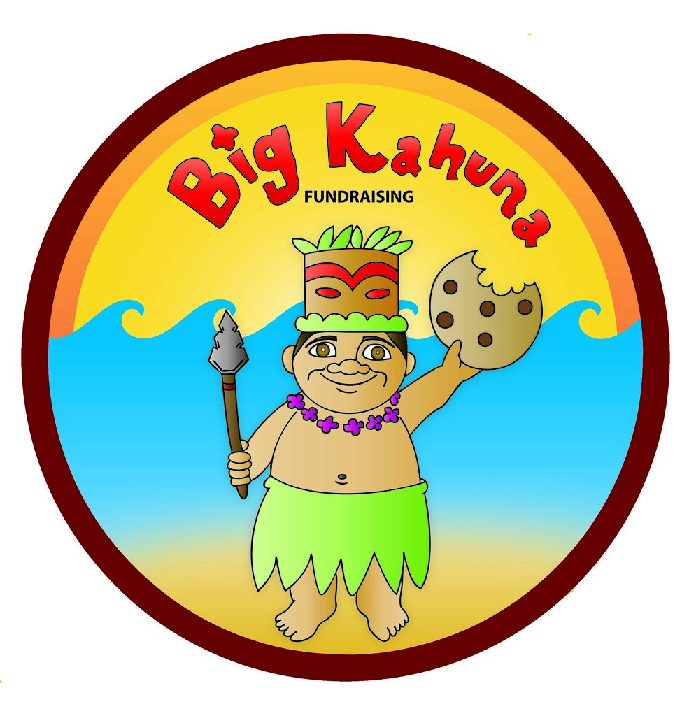 Kahuna clipart jpg black and white Big Kahuna Fundraising | Final Logo Design | Zag IMC | Flickr jpg black and white