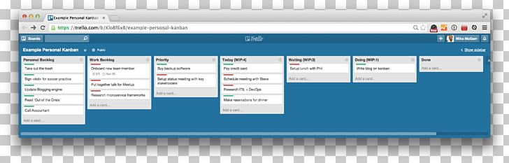 Kanban clipart jpg free Computer Software Kanban Board Trello Project Management PNG ... jpg free
